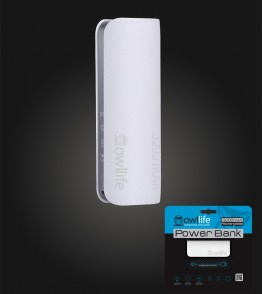 PowerBank by owllife 3200 - White