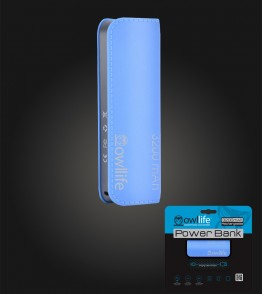 PowerBank by owllife 3200 - Blue