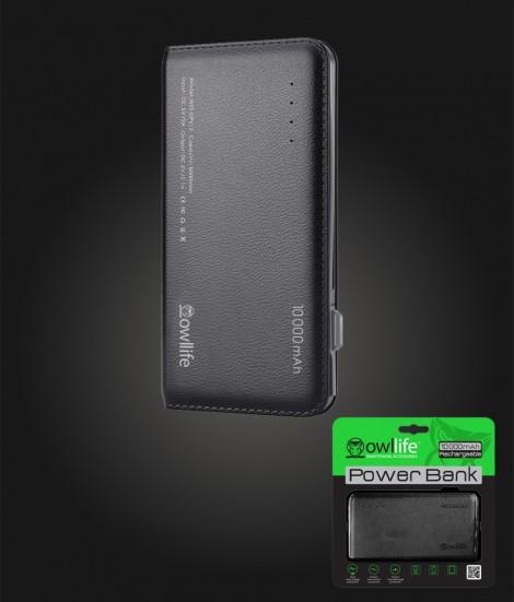PowerBank by owllife 10000 - Black