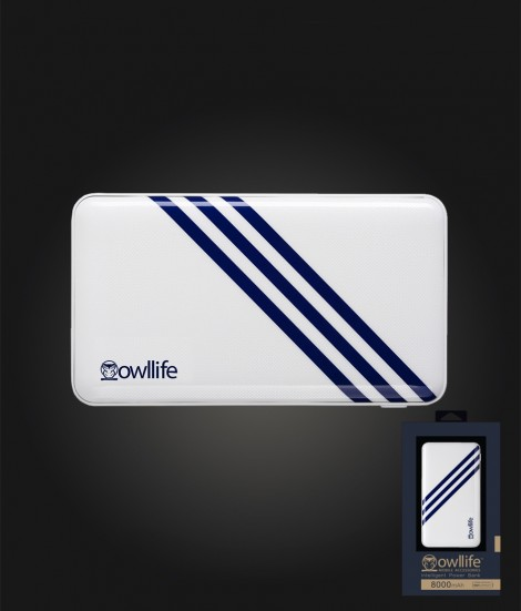 Phantom Series Intelligent PowerBank 8000 - White