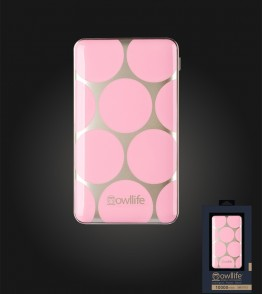 Phantom Series Intelligent PowerBank 10000 - Pink