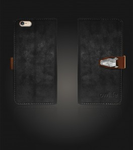 Classico Series by owllife iphone 6/6S - Black