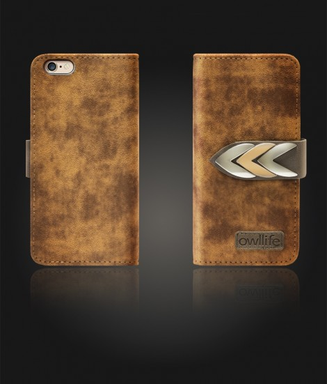 Classico Series by owllife iphone 6/6S - Brown