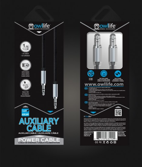 3.5MM Auxillary Cable