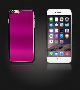 Chrom Back Slim Case iphone 6 Plus/6S Plus - Hot Pink
