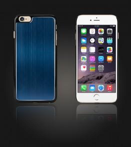 Chrom Back Slim Case iphone 6 Plus/6S Plus - Blue