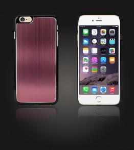 Chrom Back Slim Case iphone 6 Plus/6S Plus - Brown