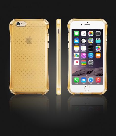 DOT TPU Case iphone 6/6S - Gold