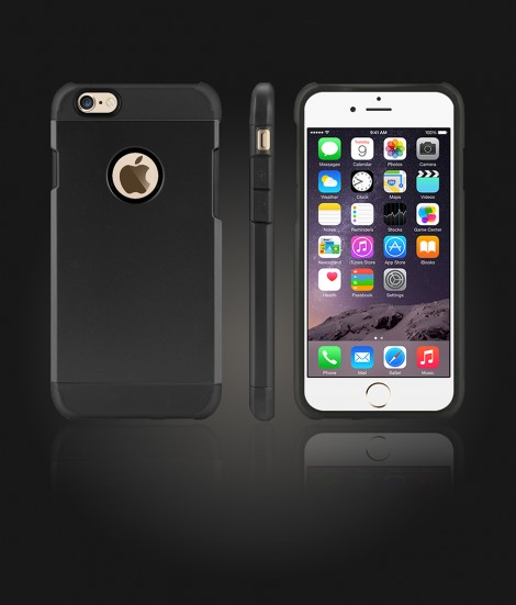 Duo Protection Case iphone 6/6S - Black
