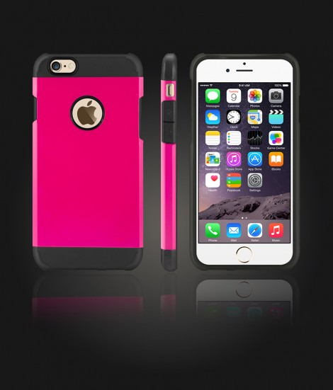 Duo Protection Case iphone 6/6S - Hot Pink