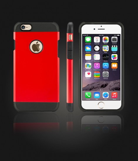 Duo Protection Case iphone 6/6S - Red