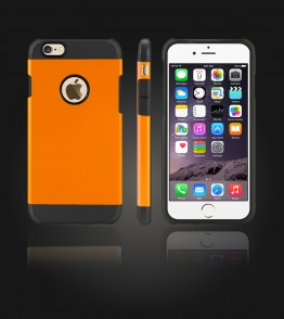 Duo Protection Case iphone 6/6S - Orange
