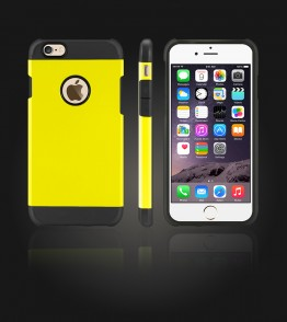 Duo Protection Case iphone 6/6S - Yellow
