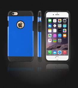 Duo Protection Case iphone 6/6S - Blue