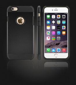 Duo Protection Case iphone 6 Plus/6S Plus - Black