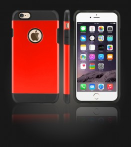 Duo Protection Case iphone 6 Plus/6S Plus - Red