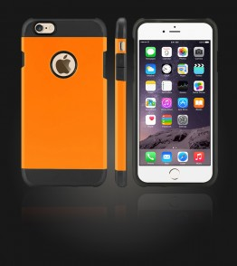 Duo Protection Case iphone 6 Plus/6S Plus - Orange