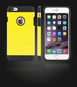 Duo Protection Case iphone 6 Plus/6S Plus - Yellow