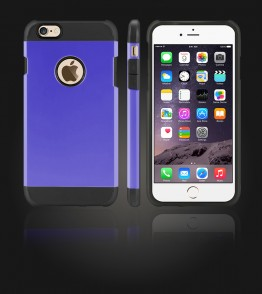 Duo Protection Case iphone 6 Plus/6S Plus - Purple