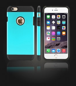 Duo Protection Case iphone 6 Plus/6S Plus - Mint