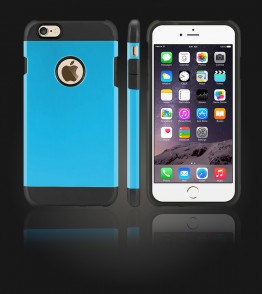 Duo Protection Case iphone 6 Plus/6S Plus - Light Blue