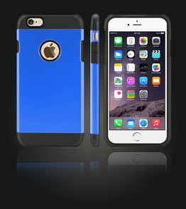 Duo Protection Case iphone 6 Plus/6S Plus - Blue