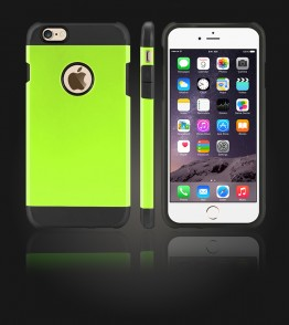 Duo Protection Case iphone 6 Plus/6S Plus - Green