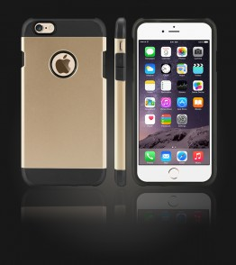 Duo Protection Case iphone 6 Plus/6S Plus - Gold