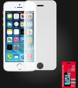 owllife Premium Screen Protector iPhone 5/5S/SE White Privacy