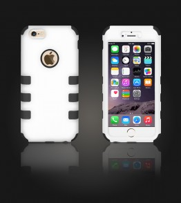 Hybrid Protector Cover iphone 6/6S - White