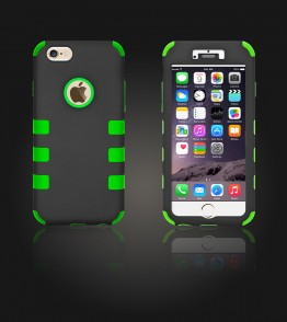 Hybrid Protector Cover iphone 6/6S - Green