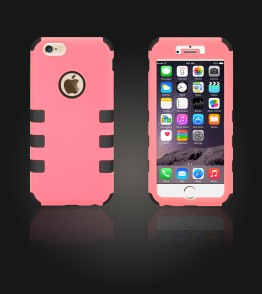 Hybrid Protector Cover iphone 6/6S - Pink