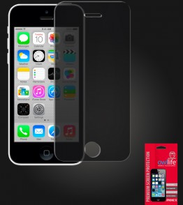 owllife Premium Screen Protector iPhone 5C Black Privacy