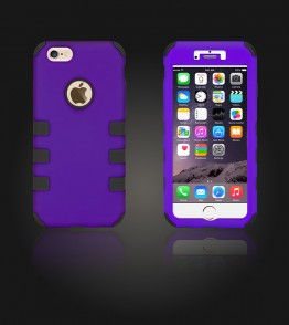 Hybrid Protector Cover iphone 6/6S - Purple