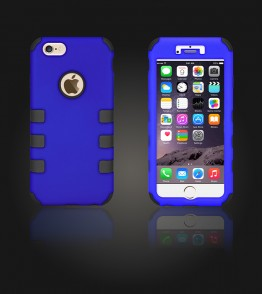 Hybrid Protector Cover iphone 6/6S - Blue