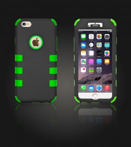 Hybrid Protector Cover iphone 6 Plus/6S Plus - Green