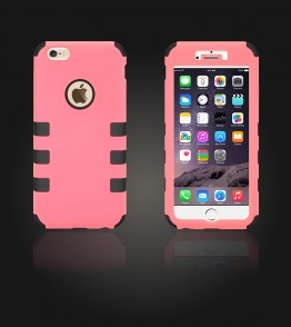 Hybrid Protector Cover iphone 6 Plus/6S Plus - Pink