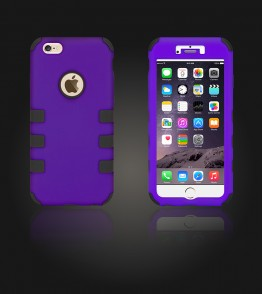 Hybrid Protector Cover iphone 6 Plus/6S Plus - Purple