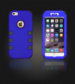 Hybrid Protector Cover iphone 6 Plus/6S Plus - Blue