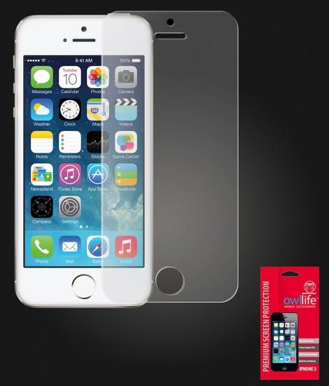 owllife Premium Screen Protector iPhone 5/5S/SE Anti Glare