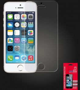 owllife Premium Screen Protector iPhone 5/5S/SE Clear