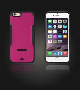 Kick-Stand Case iphone 6/6S - Hot Pink