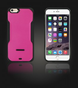 Kick-Stand Case iphone 6 Plus/6S Plus - Hot Pink