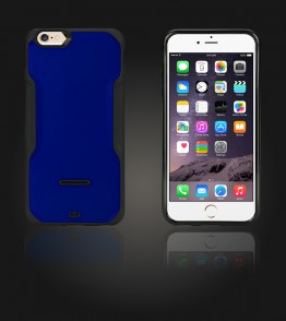 Kick-Stand Case iphone 6 Plus/6S Plus - Blue