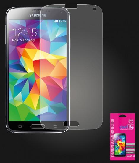 owllife Premium Screen Protector Galaxy S5 Anti Glare