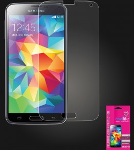 owllife Premium Screen Protector Galaxy S5 Clear