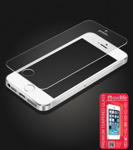 owllife Premium Tempered Glass iphone 5/5S/SE
