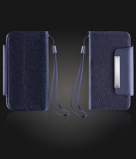 Detachable Lychee PU wallet iPhone 7 - Black