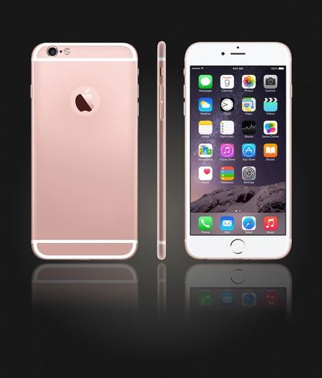 Glass Design iphone 6 Plus/6S Plus - Rose Gold