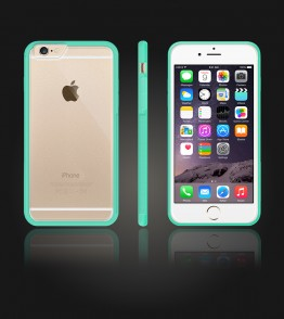 Matt Gummy Case iphone 6/6S - Mint